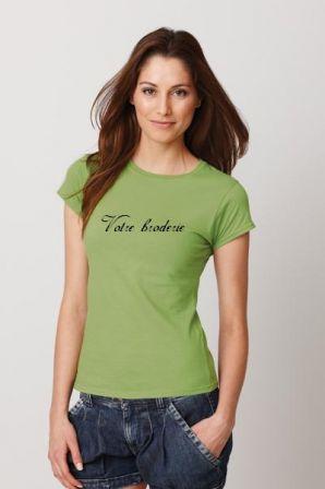 Tee shirt à personnaliser sur poitrine